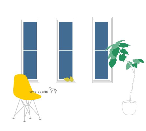 スタイルデザインスタジオのイラストレーション