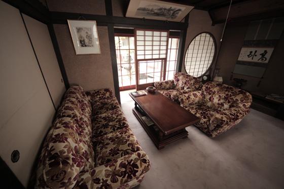 和室のソファー席