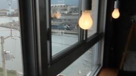 デザインラボラトリー蒼の窓辺席の照明