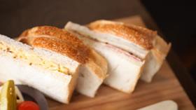 サンドイッチうまー