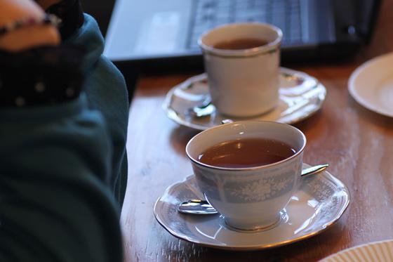お茶会です