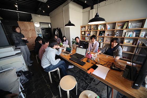 大島さんによるセッション「AWS EC2+AMI 網元でWordPressサイトを構築しよう」の様子